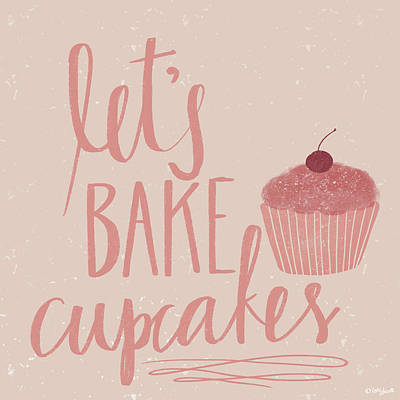 Let's Bake Art Print by Katie Doucette