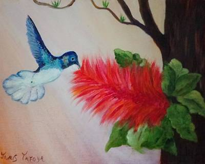 Wildlife Celebration Painting - Let's Celebrate Spring Is Here by Janis  Tafoya
