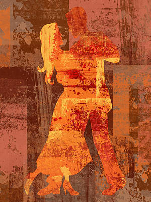 Ballroom Digital Art - Let's Dance by David G Paul