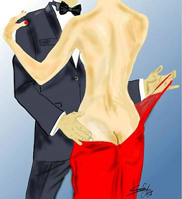 Mixed Media - Lets Dance Two by S Robinson