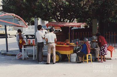 Photograph - Lets Do Lunch Mexico Series By Tom Ray by First Star Art