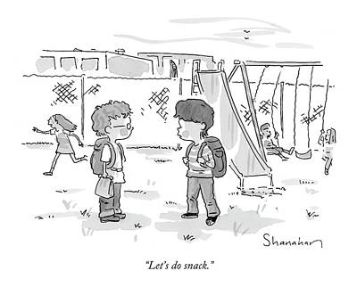 Snack Drawing - Let's Do Snack by Danny Shanahan