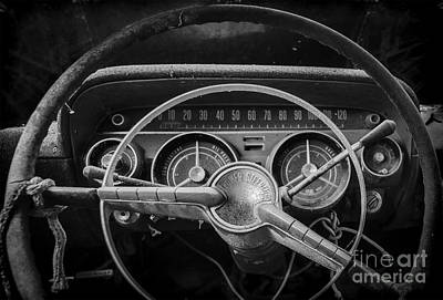 Photograph - Let's Drive Bw by Ken Johnson