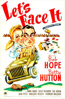Lets Face It, Us Poster, Betty Hutton Art Print by Everett