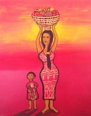 Lets Feed The Hungry Art Print by Deyanira Harris