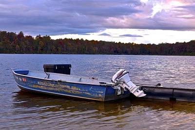 Gone Fishing Photograph - Lets Go Fishing by Frozen in Time Fine Art Photography