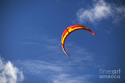 Kites Photograph - Lets Go Fly A Kite by Nigel Jones