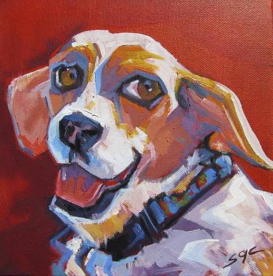 Carter.oil Painting - Let's Go by Sarah Gayle Carter