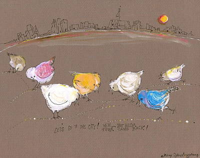 Lets Go To The City Original by Mary Armstrong