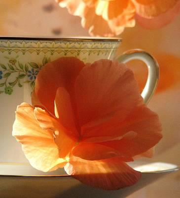 Let's Have Tea Art Print by Angela Davies