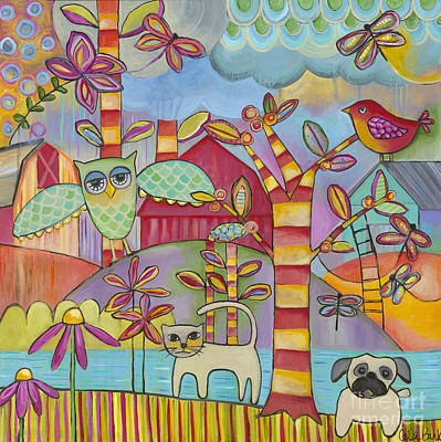 Painting - Let's Play by Carla Bank