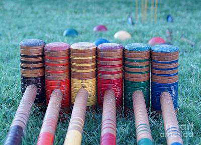 Photograph - Let's Play Croquet by Kerri Mortenson