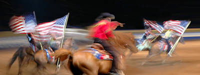 Horse Back Riding Photograph - Let's Ride by Edwin Verin