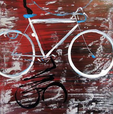 Let's Ride I Art Print by Vivian Mora