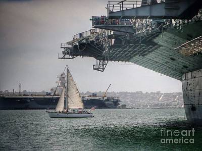 Photograph - Let's Sail Together   by Susan Garren