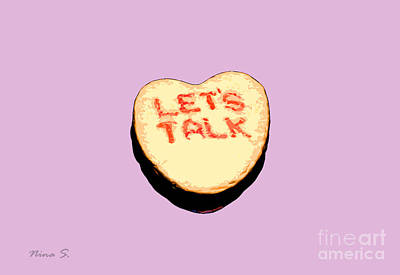 Photograph - Let's Talk Candy by Nina Silver