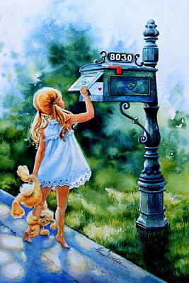 Letter For Nanna Art Print
