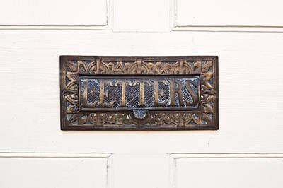 Mail Box Photograph - Letterbox by Tom Gowanlock