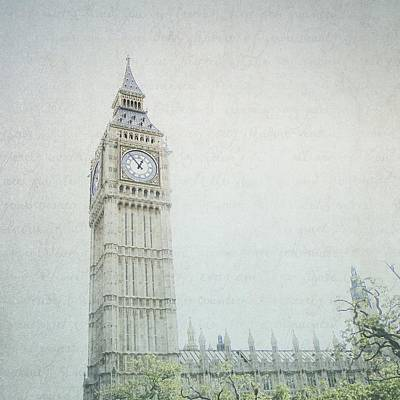 Photograph - Letters From Big Ben - London by Lisa Parrish