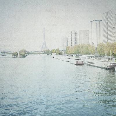 Photograph - Letters From Les Barges - Paris by Lisa Parrish