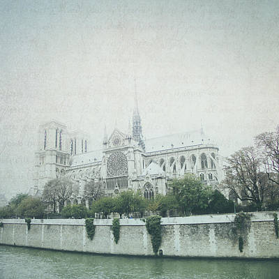Photograph - Letters From Notre-dame - Paris by Lisa Parrish