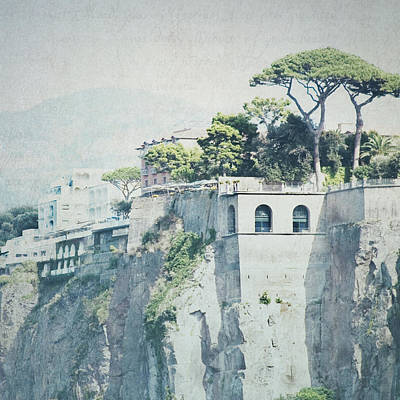 Photograph - Letters From Sorrento - Italy by Lisa Parrish