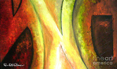 Kabala Painting - Letters From The Kabala by Roni Ruth Palmer