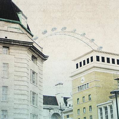 Photograph - Letters From The London Eye by Lisa Parrish