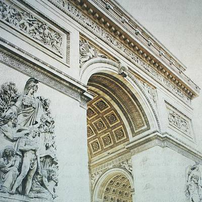 Photograph - Letters From Triomphe - Paris by Lisa Parrish