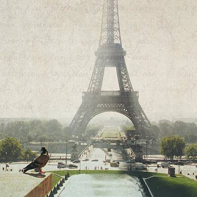 Photograph - Letters From Trocadero - Paris by Lisa Parrish