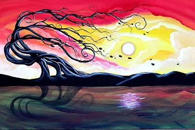 Painting - Letting Go by Angie Phillips