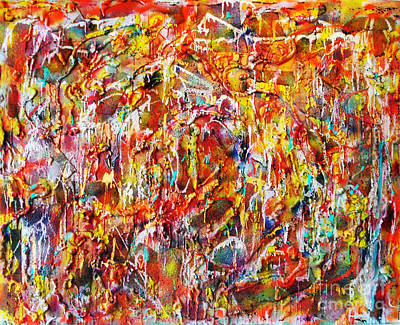 Painting - Letting Go by Yael VanGruber