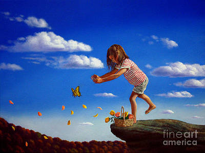 Letting It Go Art Print by Christopher Shellhammer