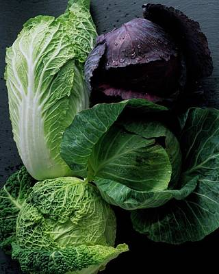 Cabbage Photograph - Lettuce by Romulo Yanes