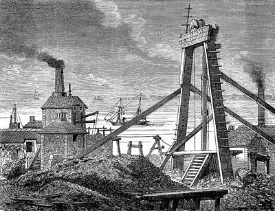 Levant Mine Art Print by Collection Abecasis