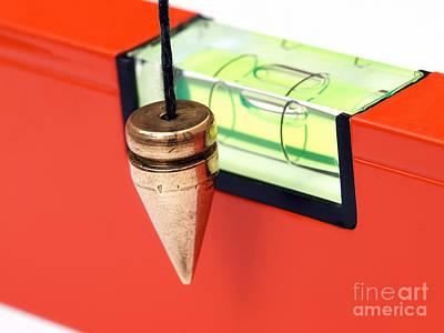 Leveling Instruments Art Print by Sinisa Botas