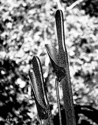 Photograph - Levers by Allen Sheffield