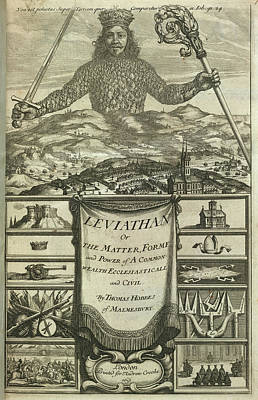 Formes Photograph - Leviathan by British Library