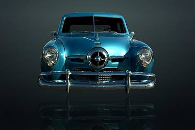 Photograph - Levitating 1950 Studebaker by Tim McCullough