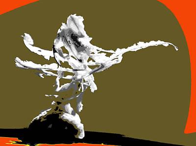 Archetype Mixed Media - Levitation Impulse Of Spring by Terrance DePietro