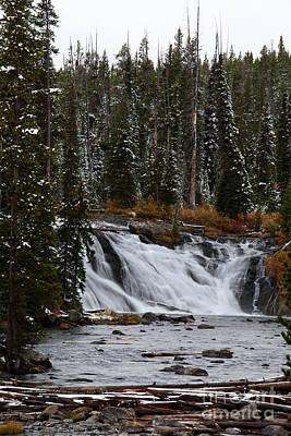 Photograph - Lewis Falls by Jim Garrison