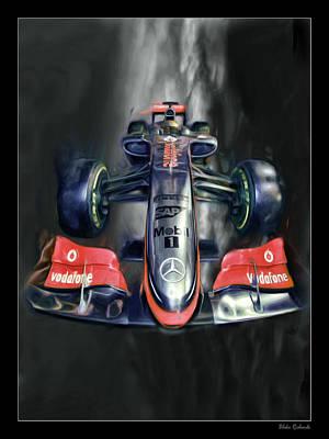 Photograph - Lewis Hamilton by Blake Richards