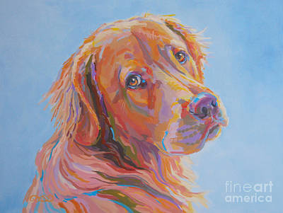 Golden Retriever Painting - Lewis by Kimberly Santini