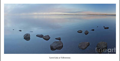 Yellowstone Wall Art - Photograph - Lewis Lake At Yellowstone by Twenty Two North Photography