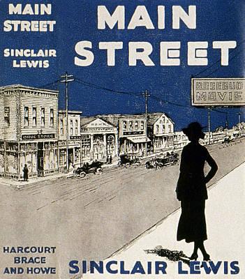 Book Jacket Painting - Lewis Main Street, 1920 by Granger