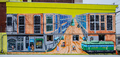 Photograph - Lewiston Street Art  7d08760 by Guy Whiteley