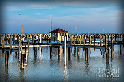 Photograph - Lexington Harbor With No Boats by Ronald Grogan
