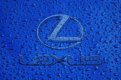 Lexus Rainy Window Visual Art Art Print