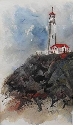 Lghthouse Art Print