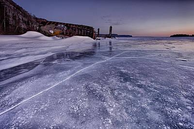 23 Hours Photograph - l'heure bleue II by Jakub Sisak